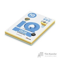 Бумага цветная для офисной техники IQ Color 5 цветов RB02 Intensive по 20 листов (А4, 160 г/кв.м, 100 листов)
