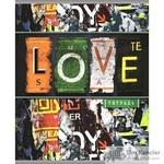 Тетрадь общая Love А5 96 листов в линейку на скрепке
