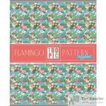 Тетрадь общая Фламинго и цветы А5 48 листов в линейку на скрепке