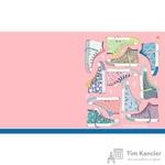 Тетрадь общая Кеды А5 48 листов в клетку на скрепке (обложка в ассортименте)