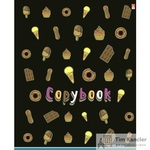 Тетрадь общая Сладости А5 48 листов в клетку на скрепке (обложка в ассортименте)