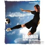 Тетрадь общая Футбол А5 48 листов в клетку на скрепке (обложка в ассортименте)