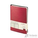 Ежедневник недатированный Альт Milano искусственная кожа A5 172 листа красный (132х211 мм)