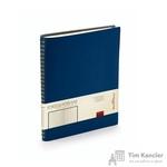 Ежедневник недатированный Альт Tintoretto New искусственная кожа B5 176 листов темно-синий (178х230 мм)