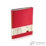 Ежедневник недатированный Альт Tintoretto New искусственная кожа B5 176 листов красный (178х230 мм)