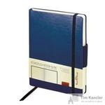 Ежедневник недатированный Альт Zenith искусственная кожа Soft Touch A5 176 листов темно-синий (на резинке, 142х213 мм)