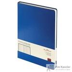 Ежедневник недатированный Альт Megapolis искусственная кожа A4 160 листов синий (190х260 мм)
