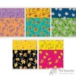 Тетрадь общая Весенние цветы А5 48 листов в клетку на скрепке (обложка в ассортименте)