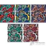 Тетрадь общая Яркий стиль А5 48 листов в клетку на скрепке (обложка в ассортименте)