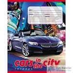 Тетрадь школьная Hatber Машина в городе-Eco А5 12 листов в клетку (обложка в ассортименте)