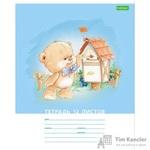 Тетрадь школьная Hatber Мишка косолапый-Eco А5 12 листов в клетку (обложка в ассортименте)