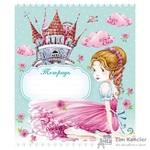 Тетрадь школьная Hatber Принцессы-VK А5 12 листов в клетку (обложка в ассортименте)