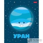 Тетрадь школьная Hatber Забавные планеты А5 24 листа в клетку (обложка в ассортименте)