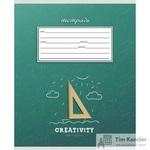 Тетрадь школьная Проф-пресс Классика и креатив А5 12 листов в клетку (обложка в ассортименте)
