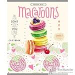Тетрадь общая Любимые пирожные А5 48 листов в клетку на скрепке (обложка в ассортименте)
