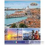 Тетрадь общая Европейские столицы А5 48 листов в линейку на скрепке (обложка в ассортименте)