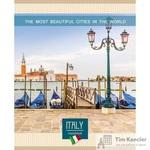 Тетрадь общая Красивейшие города Европы А5 96 листов в линейку на скрепке (обложка в ассортименте)