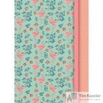 Блокнот Апплика Розовые фламинго A6 80 листов цветная в клетку на сшивке (100x140)