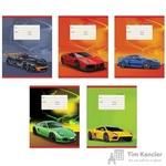 Тетрадь школьная Канц-Эксмо Скоростные авто A5 12 листов в клетку (обложка в ассортименте)