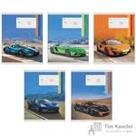 Тетрадь школьная Канц-Эксмо Спортивные авто А5 12 листов в линейку (обложка в ассортименте)