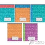 Тетрадь школьная Канц-Эксмо Двухцветная А5 12 листов в линейку (обложка в ассортименте)