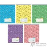 Тетрадь школьная Канц-Эксмо Сказочный лес А5 12 листов в линейку (обложка в ассортименте)