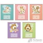 Тетрадь школьная Канц-Эксмо Верный друг А5 12 листов в линейку (обложка в ассортименте)