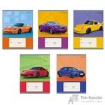 Тетрадь школьная Канц-Эксмо Машина мечты А5 18 листов в клетку (обложка в ассортименте)