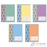 Тетрадь школьная Канц-Эксмо Совиные орнаменты А5 18 листов в клетку (обложка в ассортименте)