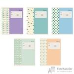 Тетрадь школьная Канц-Эксмо Нежные мотивы А5 18 листов в клетку (обложка в ассортименте)