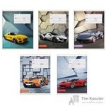 Тетрадь школьная Канц-Эксмо Быстрые машины А5 18 листов в линейку (обложка в ассортименте)