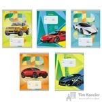 Тетрадь школьная Канц-Эксмо Яркие машины А5 18 листов в линейку (обложка в ассортименте)