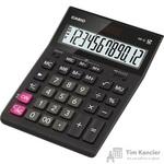 Калькулятор настольный Casio GR-12 12-разрядный черный