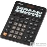 Калькулятор настольный Casio GX-12B 12-разрядный черный