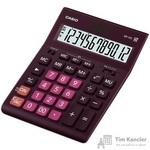 Калькулятор настольный Casio GR-12C-WR 12-разрядный бордовый