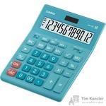 Калькулятор настольный Casio GR-12C-LB 12-разрядный бирюзовый