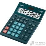 Калькулятор настольный CASIO GR-12C-DG-W-EP 12-разрядный темно-зеленый