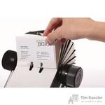 Картотека Durable Visifix на 400 визиток вращающаяся черная