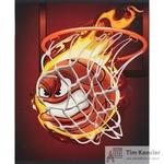 Тетрадь общая №1School Баскетбол А5 48 листов в клетку на скрепке