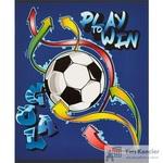 Тетрадь общая №1School Футбол А5 48 листов в клетку на скрепке