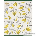 Тетрадь общая №1School Banana А5 60 листов в клетку на скрепке