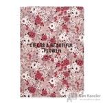 Бизнес-тетрадь Be Smart Camilla А5 48 листов красный в клетку на кольцах  (150x210 мм)