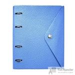 Бизнес-тетрадь Infolio Study Cassy А5 120 листов синяя в клетку на кольцах (180х212)
