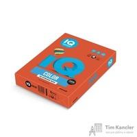 Бумага цветная для офисной техники IQ Color кирпично-красная ZR09 (А4, 80 г/кв.м, 500 листов)