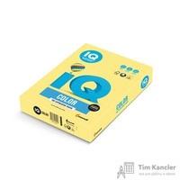 Бумага цветная для офисной техники IQ Color лимонно-желтая ZG34 (А4, 80 г/кв.м, 500 листов)
