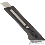 Нож канцелярский Edding E-M18 18 мм с фиксатором черный