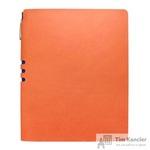 Бизнес-тетрадь Attache Light Book  A4 96 листов оранжевый в клетку на сшивке (220x265)