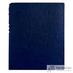 Бизнес-тетрадь Attache Light Book  A4 96 листов темно-синий в клетку на сшивке (220x265)