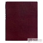 Бизнес-тетрадь Attache Light Book  A4 96 листов бордовый в клетку на сшивке (220x265)