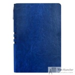 Бизнес-тетрадь Attache Light Book  A5 112 листов темно-синий в линейку на сшивке (140x202)